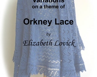 pdf copy of Variations on a Theme of Orkney Lace ebook by Elizabeth Lovick - instant download