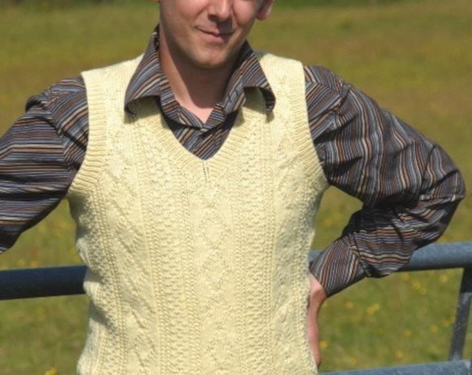 pdf pattern for the Burnside V Neck Slipover by Elizabeth Lovick - instant download