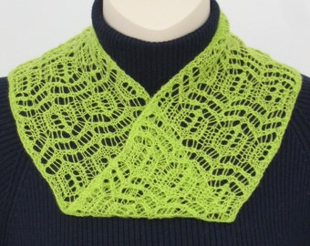 pdf pattern for Mock-Mobius Collars and Scarves in ColourMart Lace Weights - instant download