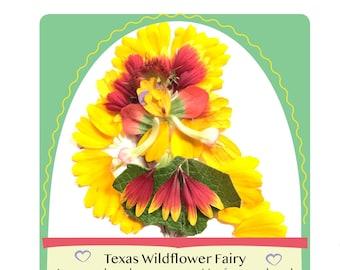 Texas Wildflower Fairy