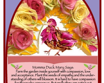 Momma Duck Mary Says