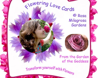 Flowering Love Cards -   Transform yourself with Flowers