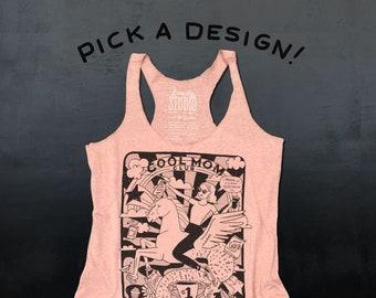 Pick a Design  //  Ladies Pink Razor Tank