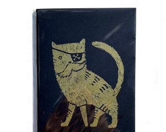 Pirate Kitty  //  Notebook