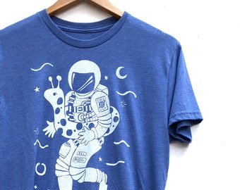Space Guy  //  Adult Crew T-shirt