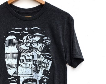 Lunchy  //  Adult Crew T-shirt