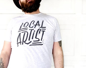 Local Artist  //  Adult Crew T-shirt