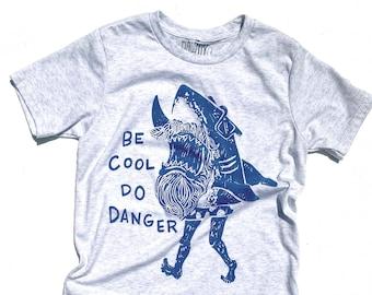 Be Cool Do Danger  //  Kid's Crew Neck