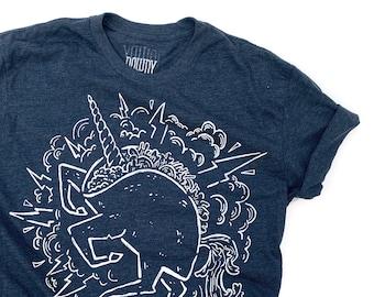 Uni corn taco  //  Adult Crew T-shirt