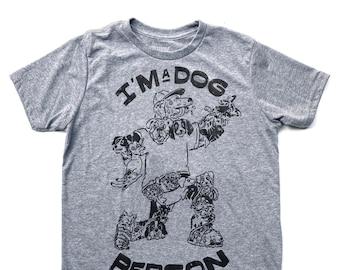 Dog Person  //  Kid's Crew Neck
