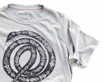Guitar Snake   //  Adult Crew T-shirt