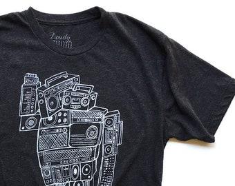 Boom Bot  //  Adult Crew T-shirt
