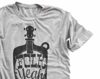 Folk Yeah   //  Adult Crew T-shirt