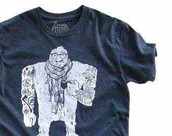 Urban Yeti  //  Adult Crew T-shirt