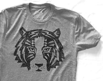 Tigertar   //  Adult Crew T-shirt