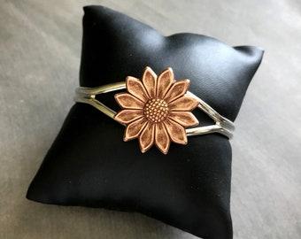 Backyard Garden Jewelry FLOWER: Helianthus Fall Harvest  Wedding Gardener  Florist/'s Gift SUNFLOWER 925 Silver Kidney Wire Earrings