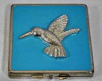 Ozean Blau Spiegel Reise Kompakte Tasche Kristall Falten Make-up Spiegel