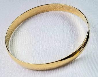 ae45bd6fcec2b Gold wash bangle | Etsy