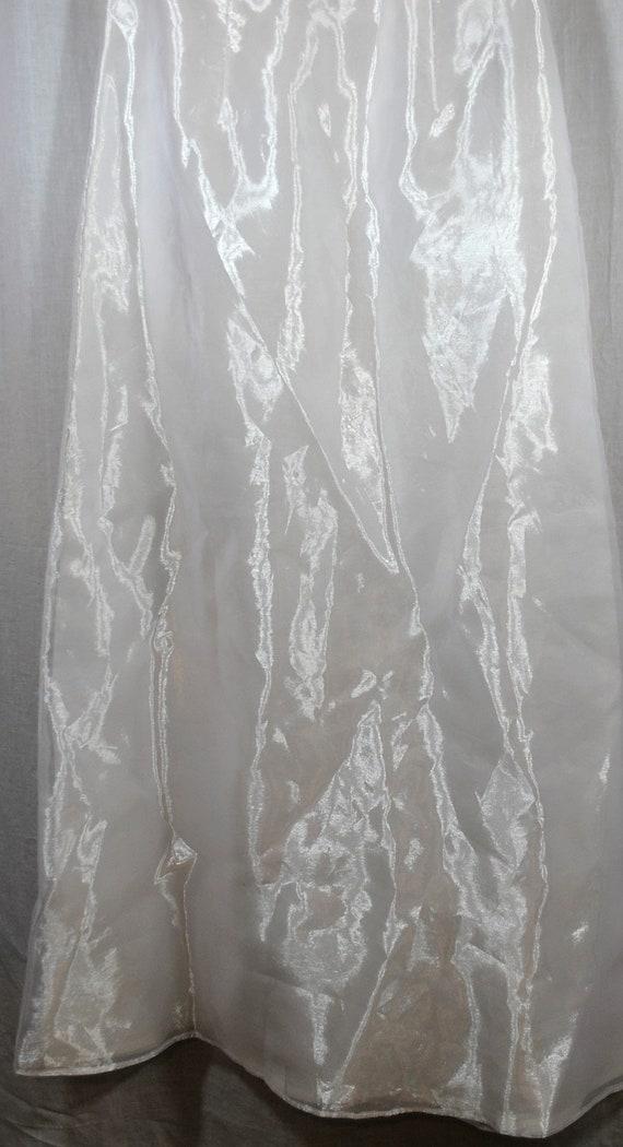 Jessica McClintock Womens Bridal Skirt Size 5 Whi… - image 5