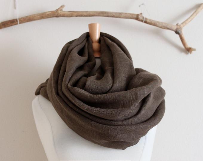 annyschoo generous linen wrap shawl scarf