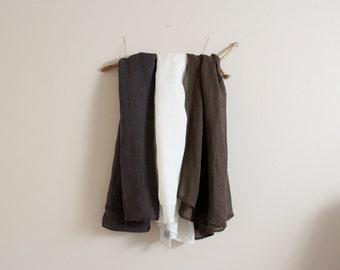 large linen wrap shawl scarf