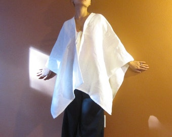 linen origami wrap made to order