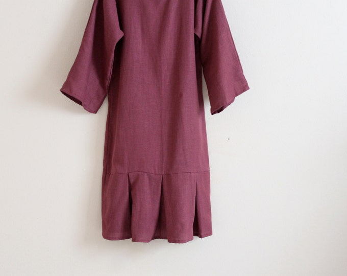 custom kimono sleeve mermaid tail linen dress  made to fit listing /mermaid dress / petite / plus size / custom sizes colors / handmade