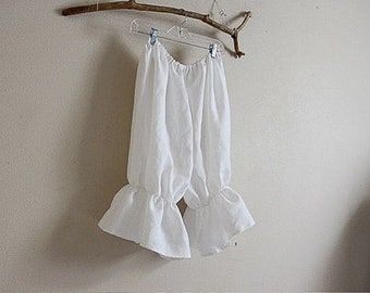 linen bloomers made to order