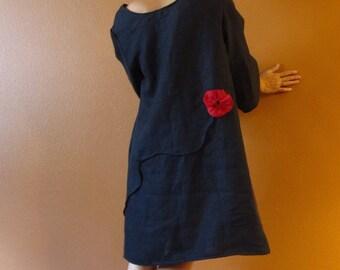 custom  linen dress