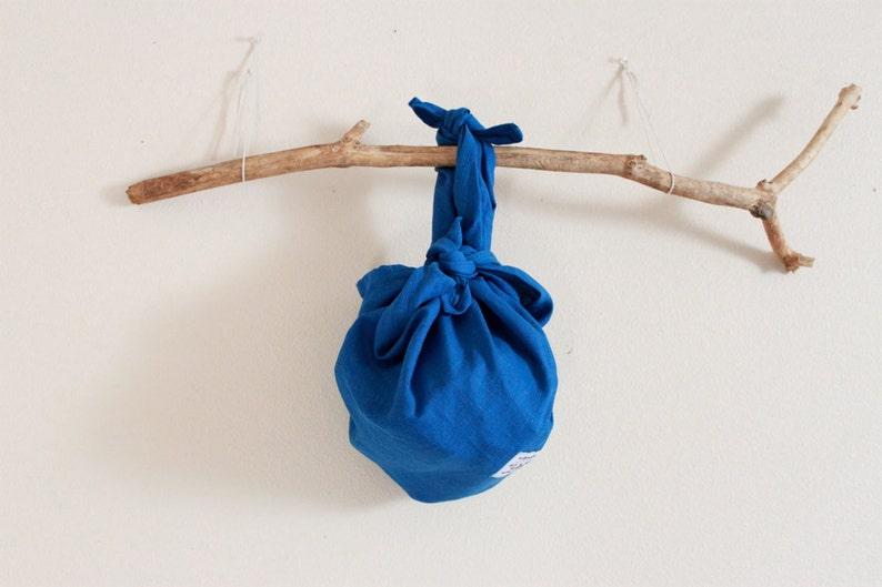 e97e2e22ec Eco friendly linen furoshiki wrap bag