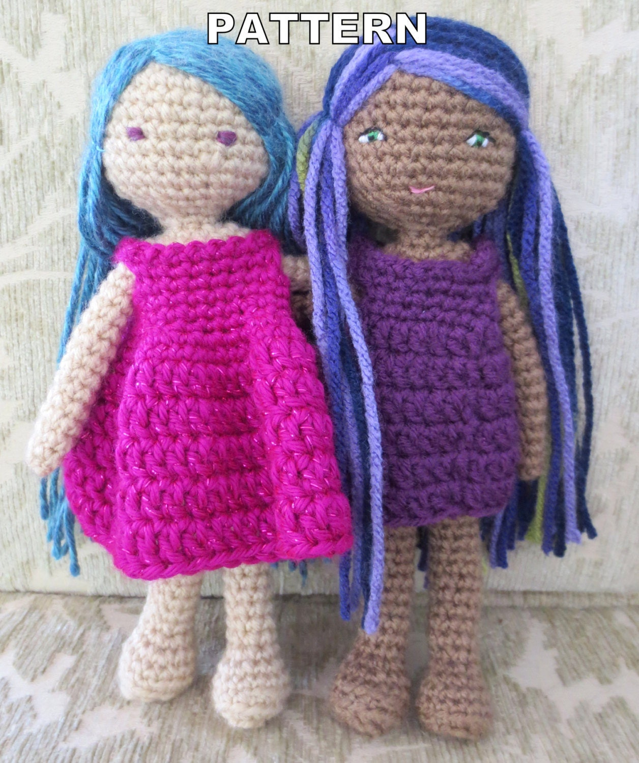 Crochet Doll Pattern Amigurumi Doll Pattern Toy Crochet | Etsy | 1500x1256