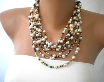 Summer Fashion Pearl Necklace