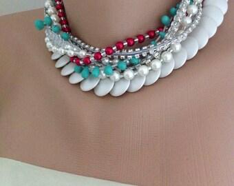 Brides necklace wedding jewelry
