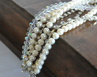 New Season Handmade Weddings Freshwater Pearl Bracelet Bridsmaids Gifts