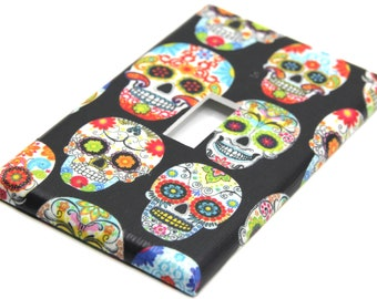 Light Switch Dia De Los Muerto Etsy