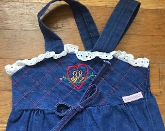 Baby Bundles Spirited Girls 9-12 Months Dungaree Bundle