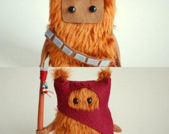 Star Wars Ewok and Chewie