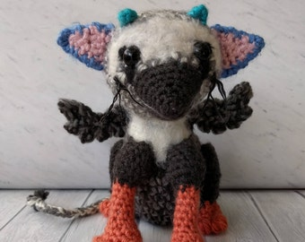 The Last Guardian Chibi Trico Plush Crochet Amigurumi