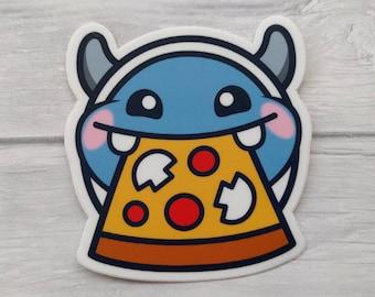 STICKER beetlePizza Yeti Pizza Twitch Emote Vinyl Sticker