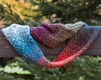 Adrift Infinity Cowl Knitting Pattern digital download