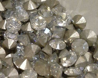 144 pp9 Crystal Moonlight Swarovski Article 1028 Xilion 1.6mm Chatons