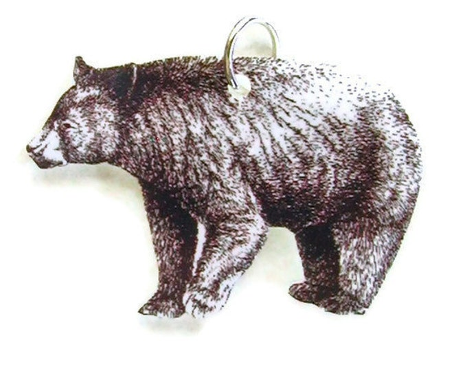 GENTLE BEAR Necklace Small Pendant Gifts for her