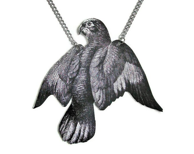 Parrot Large Pendant Necklace Gifts for her