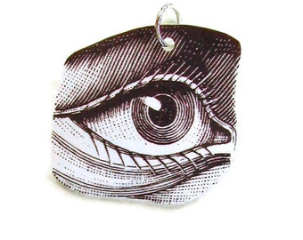 Necklace Anatomy Eye Small Pendant Gifts for her