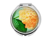 Hydrangea Compact Mirror Pocket Mirror Large Gifts for her