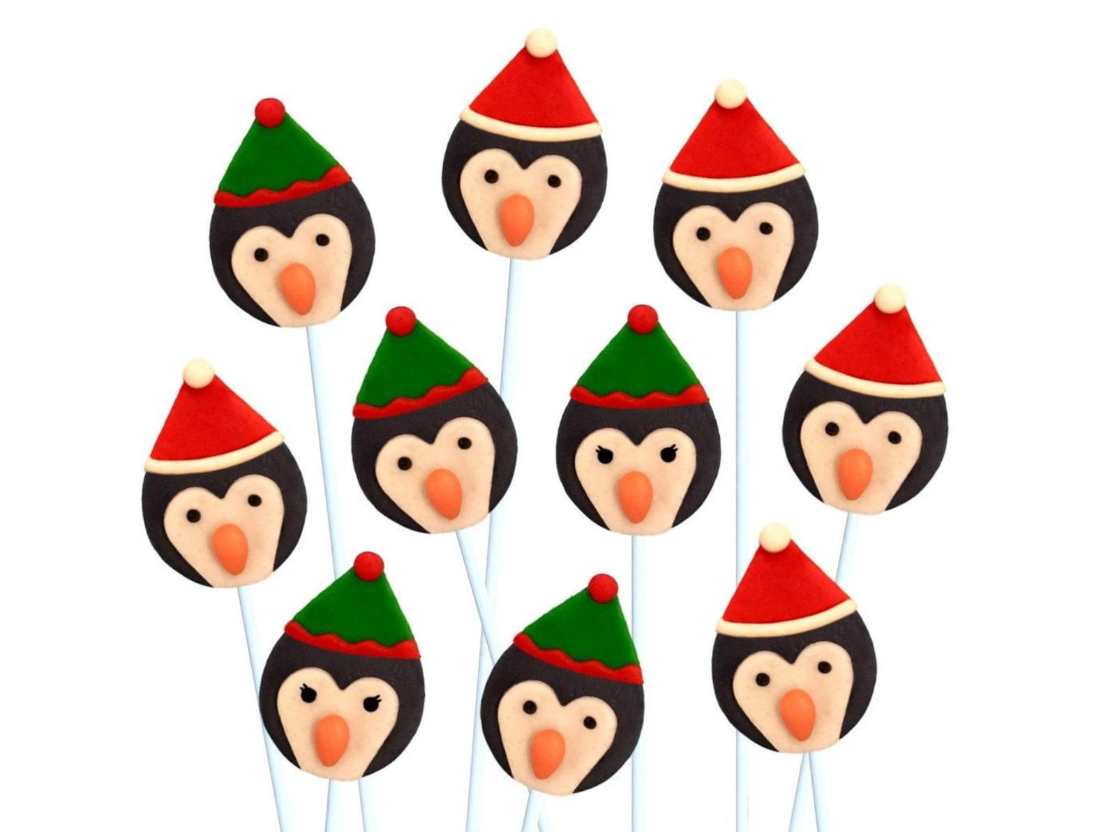 Penguin Lollipops