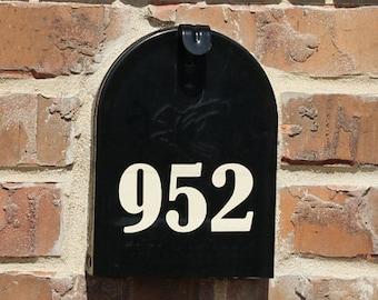Mailbox Front Door Number Stickers, Bold Door number sticker, Bold Mailbox Number Vinyl Decals, Mailbox Street Numbers, Outdoor House decal