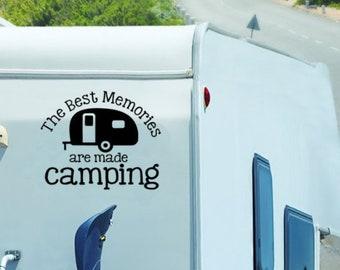 Camper decal | Etsy