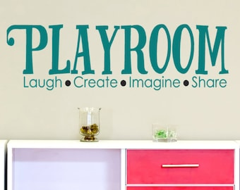 More Colors. Playroom Wall Decal ...