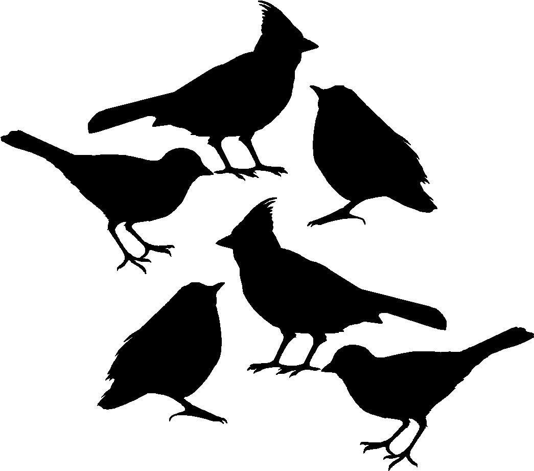 Bird decals decal set bird sticker bird car window decal etsy